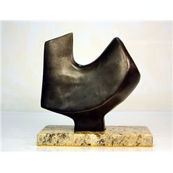 Brilliant Jean Arp  Original, limited Edition  Bronze - Sculptural Element