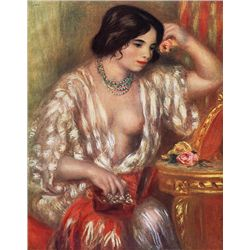 Gabrielle And The Jewels - Renoir - Limited Edition on Canvas