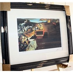 Salvador Dali Signed Limited Edition - The Invention Of The Monsters