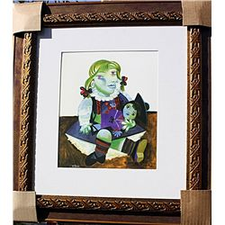 Maya and Doll  - Picasso - Limited Edition