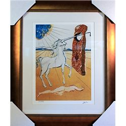 Salvador Dali Signed Limited Edition - The Agony of Love