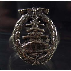 GERMAN NAZI KRIEGSMARINE HIGH SEAS FLEET RING