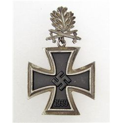 GERMAN NAZI KNIGHTS CROSS W/ OAK LEAVES & SWORDS