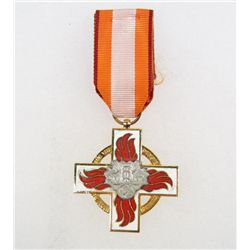 GERMAN NAZI 2ND CLASS FIRE BRIGADE DECORATION