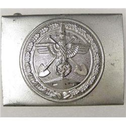 GERMAN NAZI ORGANIZATION TODT ENLISTED MANS BELT BUCKLE