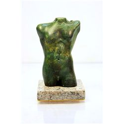 Hugue  Original, limited Edition  Bronze - Man With Wings