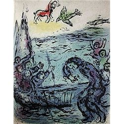 Ulysses and His Companions by Chagall from the Odyssey Suite.