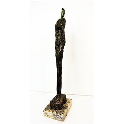 Alberto Giacometti  Original, limited Edition  Bronze - TALL FIGURE