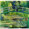 Image 1 : Japanese Bridge - Monet - Limited Edition on Canvas