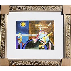  The Great Gate of Kiev  - Kandinsky - Limited Edition