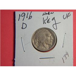 1916 D BUFFALO NICKEL