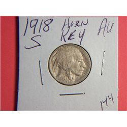 1918 S BUFFALO NICKEL
