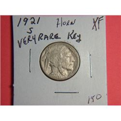 1921 S BUFFALO NICKEL