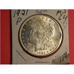 1921 P MORGAN DOLLAR