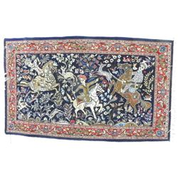 "Tabriz ""Hunting"" carpet"