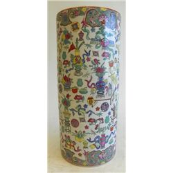 "Umbrella stand with ""Floral"" decoration"