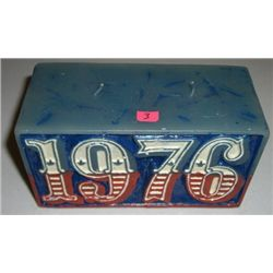1976 Original Bicentennial Candle *NEVER USED*!!