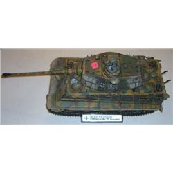 Model Tank stamped *2008 UNIMAX TOYS* German KinG Tiger Tank 1/32 Scale!!