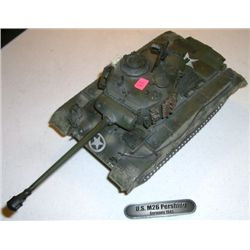 Model Tank stamped *2004 UNIMAX TOYS* U.S. Tank M26 PERSHING 1/32 Scale!!