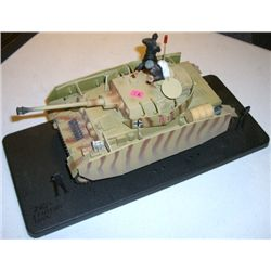 Model Tank stamped *GERMAN TANK PANZER IV* U.S. Tank M26 PERSHING 1/32 Scale!!