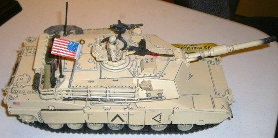 unimax toys. image 1 : model tank stamped *2003 unimax toys* large u.s. m1a1 abrams unimax toys n