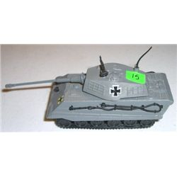 METAL Tank stamped *ZYLMEX T403 KING TIGER* Small German Tank measures 5 inches long!!
