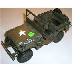 Model U.S. War Jeep - Part of Wonderful Tank Collection auctioned today!!
