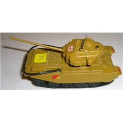 METAL Tank stamped *CENTURION MK III ENGLAND T410* Small 1:87 Scale England Tank!!