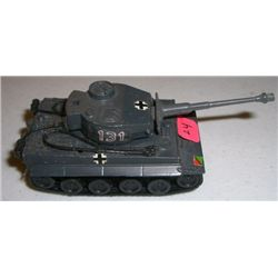 METAL Tank stamped *ZYLMEX T408 TIGER I* Small German Tank measures 4 inches long!!