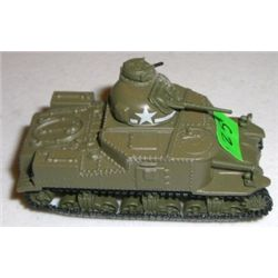 METAL Tank stamped *JOHNNY LIONTHIN 2004PLAYING MANTIS* Small U.S. Tank measures 2 1/4 inches long!!