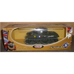 Diecast Sherman Tank *SOLIDO - MADE IN FRANCE* in Orginal Box !!