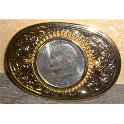 1972-D Eisenhower  IKE  Dollar Belt Buckle *LIKE NEW CONDITION*!!