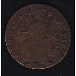 1787 Connecticut Colonial Copper