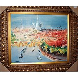 Seaside  - Jean Dufy Limited Edition