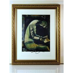 Marc Chagall Original Lithograph - Jew at Prayer