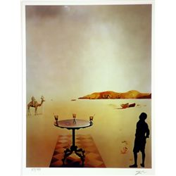 Salvador Dali Signed Limited Edition - Sun Table