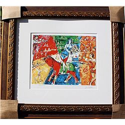 Circus Horse and Rider  - Chagall - Limited Edition