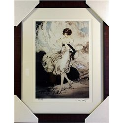 Louis Icart  Limited Edition-He Loves me, he Loves me not