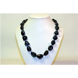 Lady's Fancy  All Natural Stones  Lapis Necklace