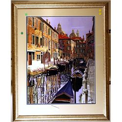 Borelli - Pathway To The Shops - Lithograph
