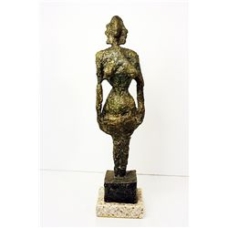 Alberto Giacometti  Original, limited Edition  Bronze - WOMAN
