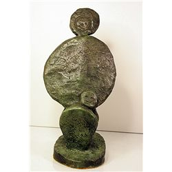 Max Ernst  Original, limited Edition Bronze -Apaisament