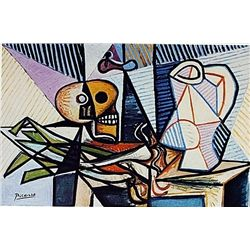Limited Edition Picasso - Still life with Skull, Leek and Pottery - Collection Domaine Picasso