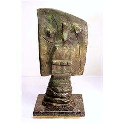 Joan Miro Original Limited Edition Bronze - Head