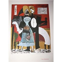 Limited Edition Picasso - Couple Dancing - Collection Domaine Picasso
