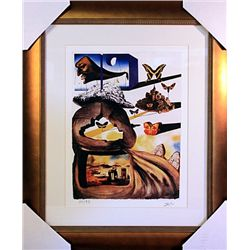 Salvador Dali Signed Limited Edition - NORMANDIE