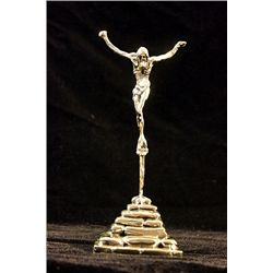 Dali Signed and Numbered Bronze Sculpture - St. John On The Cross