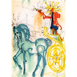 Chariot - Dali - Limited Edition on Canvas
