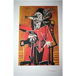 Limited Edition Picasso - The Musketeer - Collection Domaine Picasso