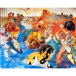 Tuna Fishing - Dali - Limited Edition on Canvas